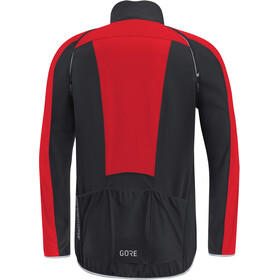 GORE WEAR C3 Windstopper Phantom Zip-Off Jacket Herren black/red